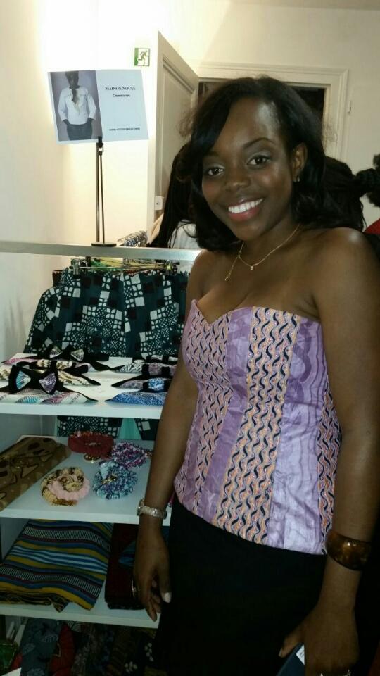 Gaelle Tabeko, fondatrice de la marque Maison Nouss