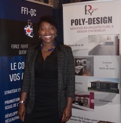 Marie-Ange Adousso, architecte et fondatrice de Poly-Design