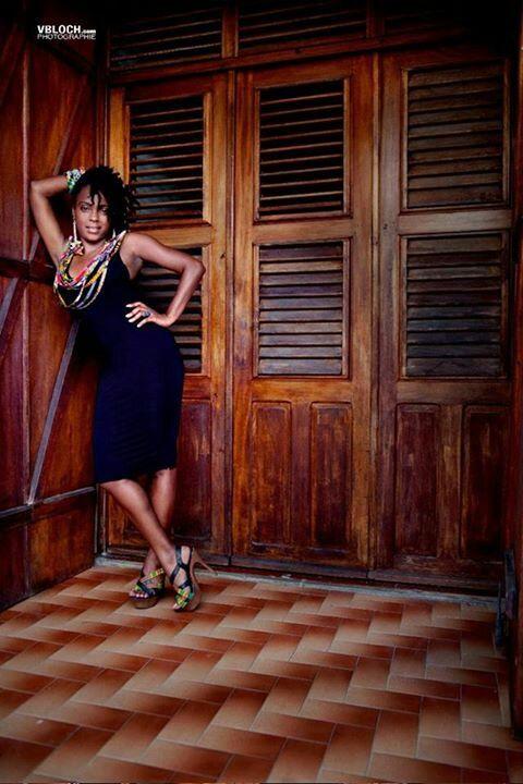 Lady Sweety - chanteuse et créatrice de la marque Fet a Kaz
