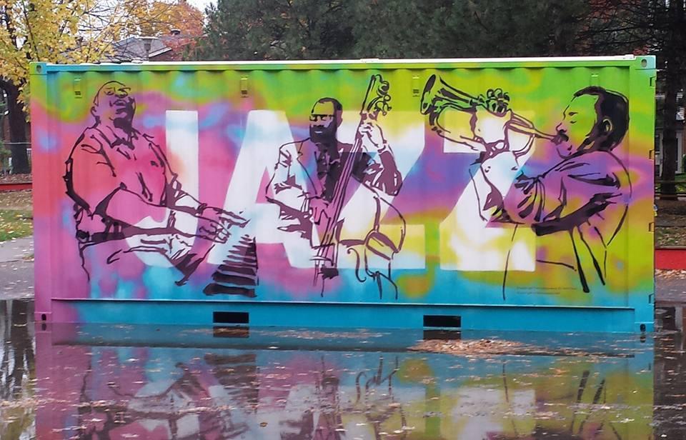 Parc des Jazzmen à Montréal
