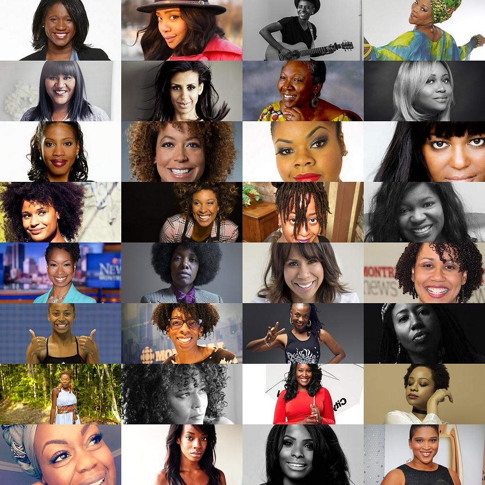 Les 32 femmes nominées au Gala Dynastie 2017, cérémonie qui récompense les personnalités noires au Québec