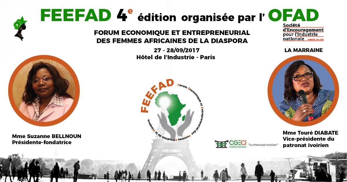 Forum Economique des Femmes Africaines de la Diaspora 2017