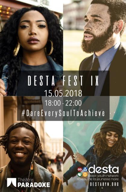 9è édition de DESTA FEST se tiendra ce mardi 15 mai à Montréal