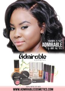 Lancement de la gamme de beauté Admirable Cosmetics