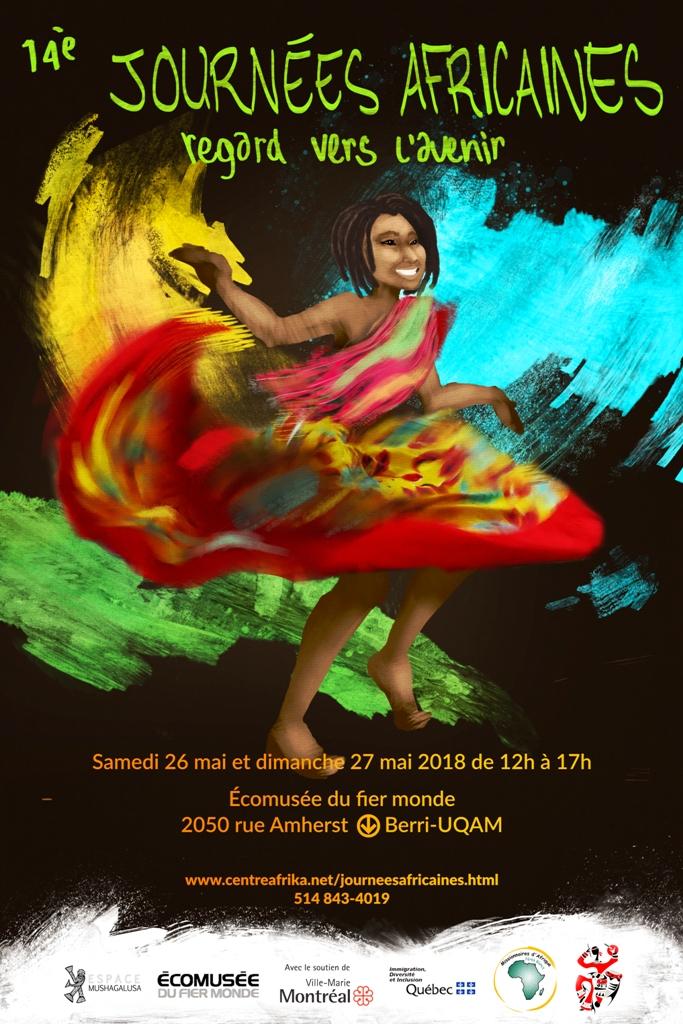 Journées africaines du 25 au 27 Mai 2018 à Montréal