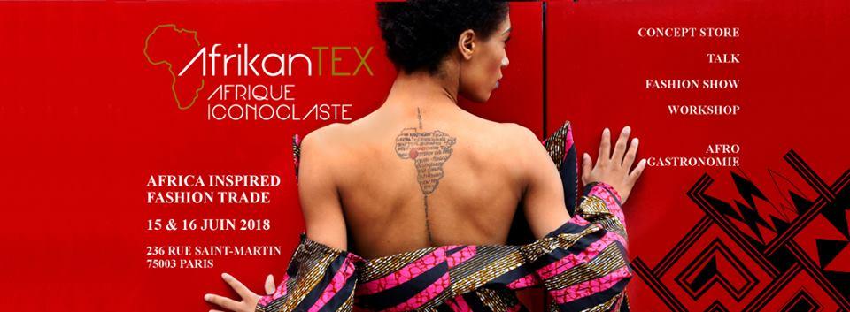 Mode: Salon AfrikanTex les 15 et 16 juin 2018 à Paris