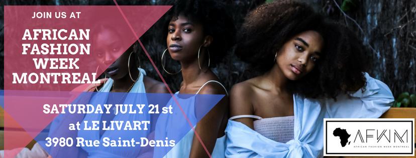 1 ère édition du African Fashion Week Montréal