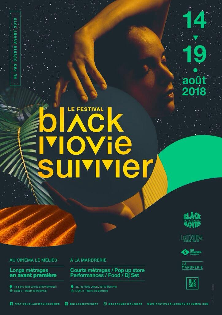 Le festival Black Movie Summer revient du 14 au 19 août 2018